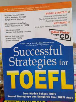 Successfull Strategies for TOEFL