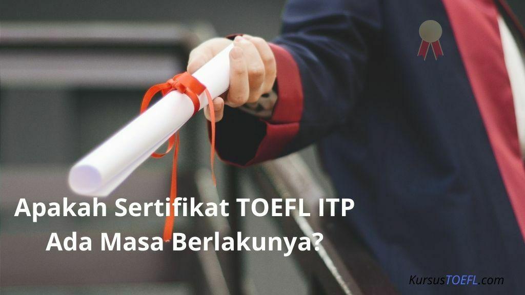 Sertifikat TOEFL ITP