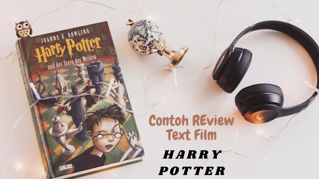 contoh review text film harry potter